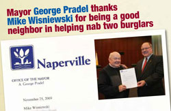 [mayor pradel thanks mike wisniewski]